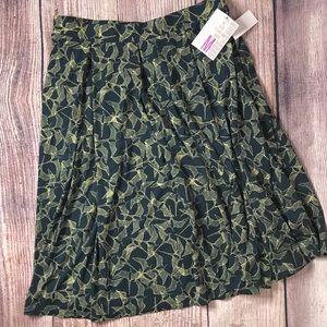 Birds! Lularoe Madison Skirt Medium NWT